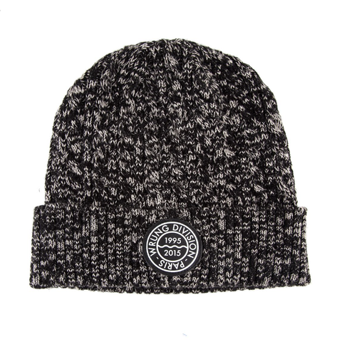Wrung Ride Beanie: Heather Black, 9Couture - 9Couture
