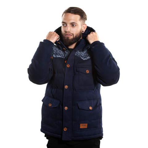 Cranbrook Two in One: Navy Blue Jacket