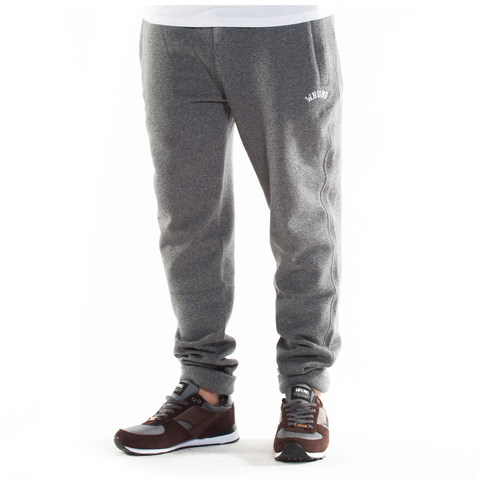 Wrung Jogger Pants: Heather Grey, 9Couture - 9Couture