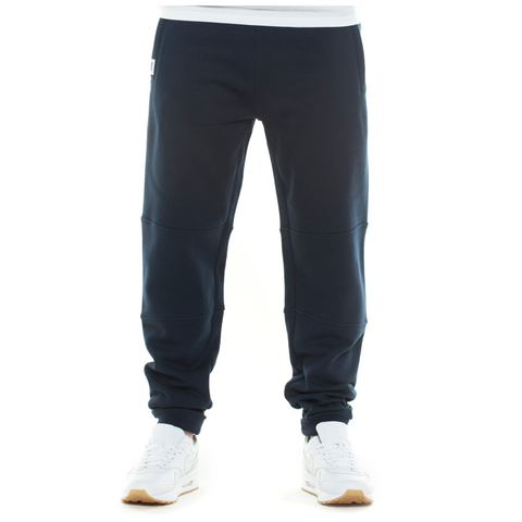 Wrung Jogger Pants: Navy Blue, 9Couture - 9Couture