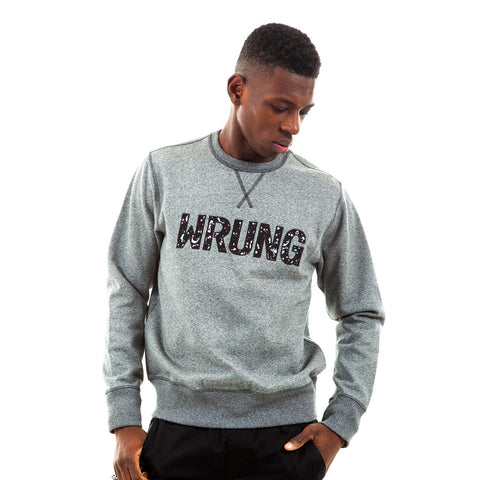 Logo Type Paint Crewneck, 9 Couture - 9Couture