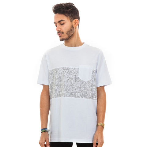 Pocketee T Shirt - White, 9 Couture - 9Couture