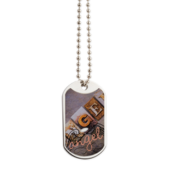 Angel Dog Tag - Take Action Apparel & Gear