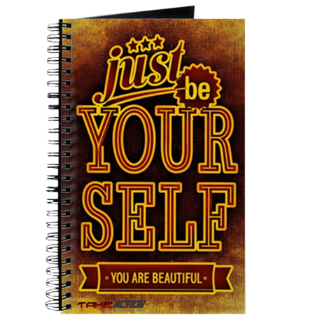 Just Be Yourself Action Journal