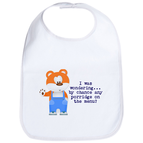 Baby Bear Baby Bib - Take Action Apparel & Gear
