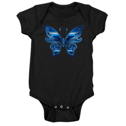Butterfly Baby Bodysuit - Take Action Apparel & Gear