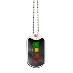 Charging Dog Tag - Take Action Apparel & Gear