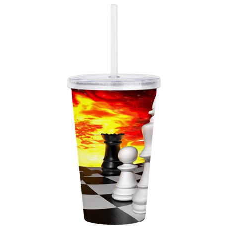 Chess Tumbler - Take Action Apparel & Gear