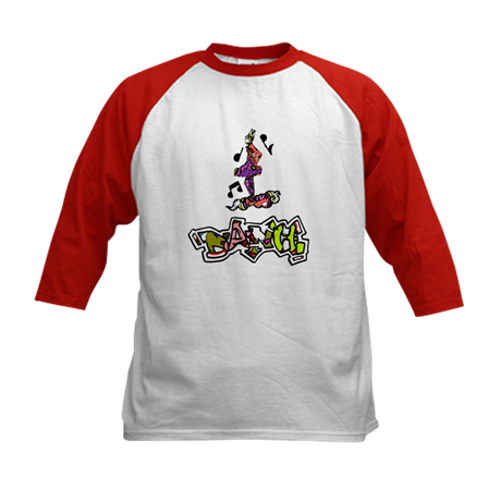 Dance 3 Baseball Jersey T-Shirt - Take Action Apparel & Gear