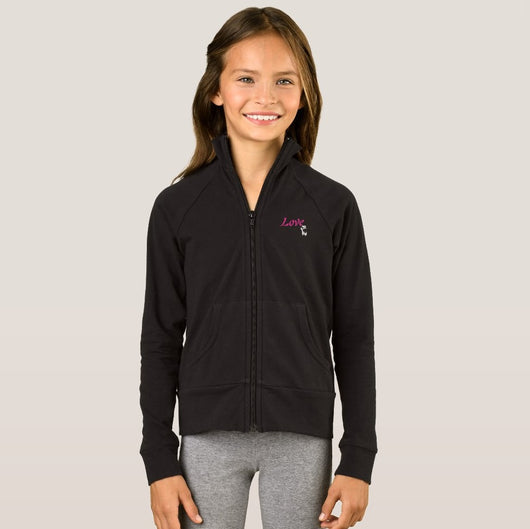 Love Ballet Girl's Boxercraft Practice Jacket