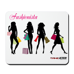 Fashionista Mouse Pad