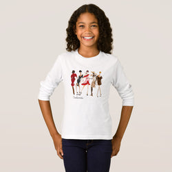 Fashionista Girl's Basic Long Sleeve T-Shirt