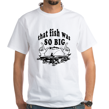 Fishing Men's Crew-Neck T-Shirt