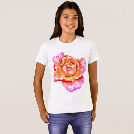 Flower Girls' Bella+Canvas Crew T-Shirt