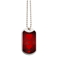 Hearts Dog Tag