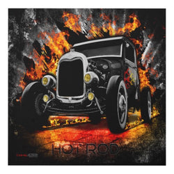 Hot Rod Matte Wall Panel