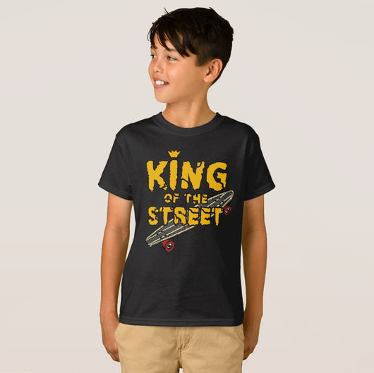 King of the Street Boy's Hanes TAGLESS® T-Shirt