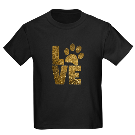 Love Paw Kids Crew-Neck T-Shirt