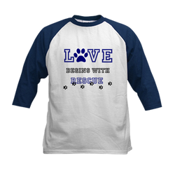 Love Rescue Baseball Jersey T-Shirt