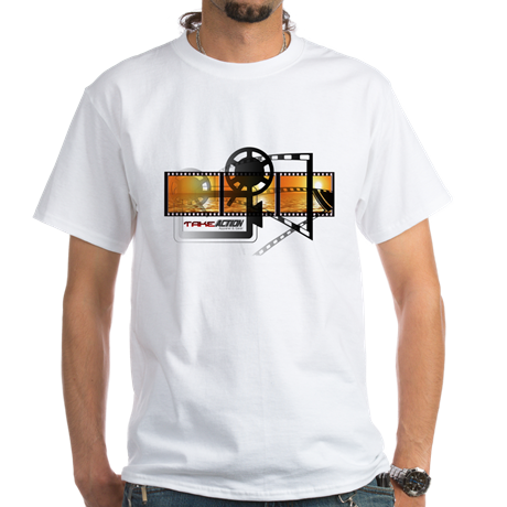 Men's Take Action Logo Crew-Neck T-Shirt