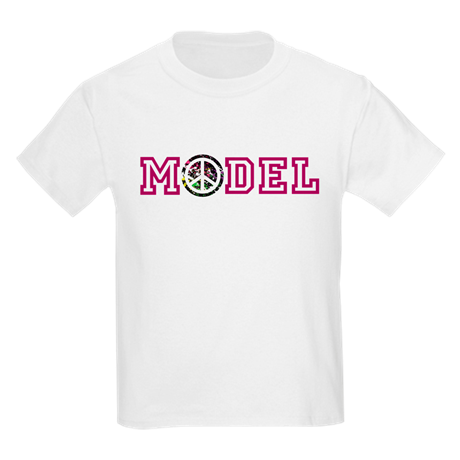 Model Kids Crew-Neck T-Shirt