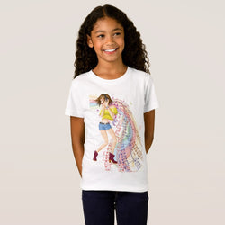 Music Girl's Fine Jersey T-Shirt