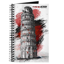 Leaning Tower of Pisa Action Journal