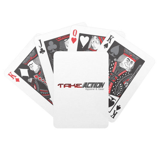 Take Action Logo Deck of Playing Cards