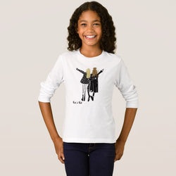 Rock 'N' Roll Girl's Basic Long Sleeve T-Shirt