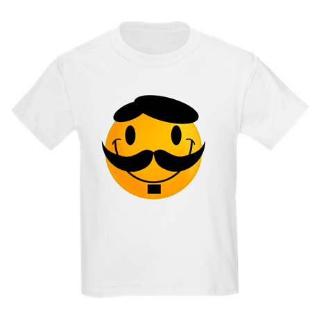 Mr. Smiley Kids Crew-Neck T-Shirt
