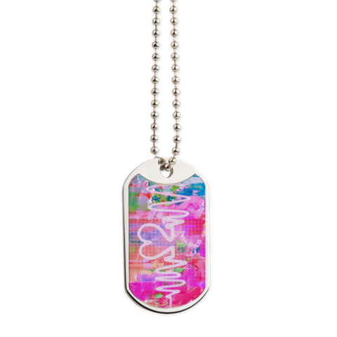 Spring Love Dog Tag
