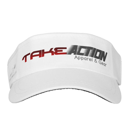 Take Action Logo Sun Visor