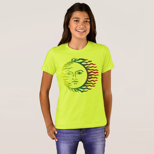 Girl's Bella+Canvas Crew Sunshine T-Shirt