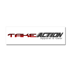 Take Action Logo Car Magnet