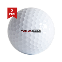 Take Action Logo Golf Balls