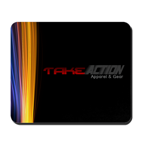 Take Action Logo Mouse Pad
