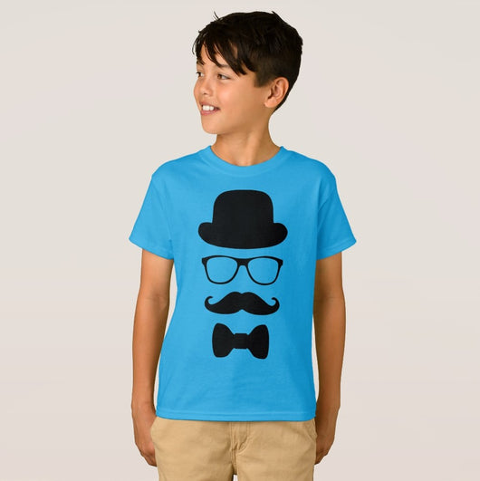 Dapper Dude Boy's Hanes TAGLESS® T-Shirt