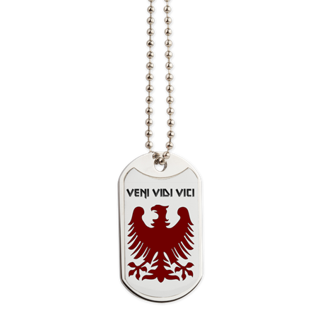Veni, Vidi, Vici Dog Tag