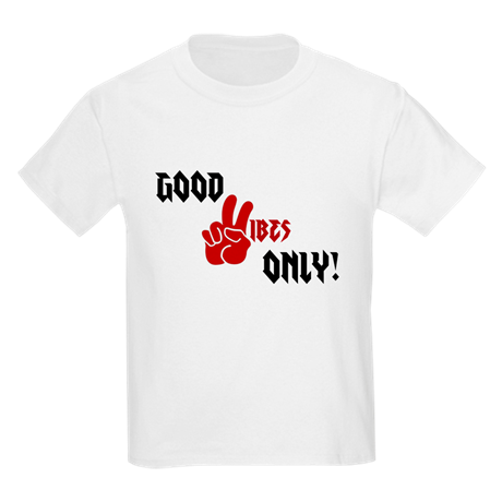 Good Vibes Only Kids Crew-Neck T-Shirt
