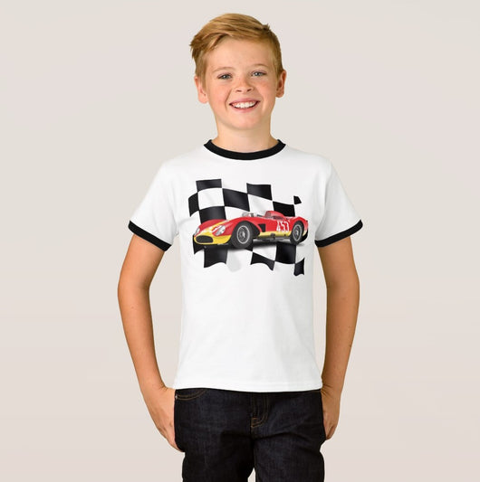 Need for Speed Boy's Ringer T-Shirt