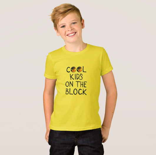 Cool Kids on the Block Boy's American Apparel Fine Jersey T-Shirt