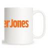 Mother Jones Large Logo Mug Orange
