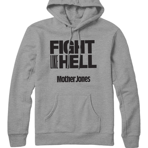Fight Like Hell (Black Print) Hoodie