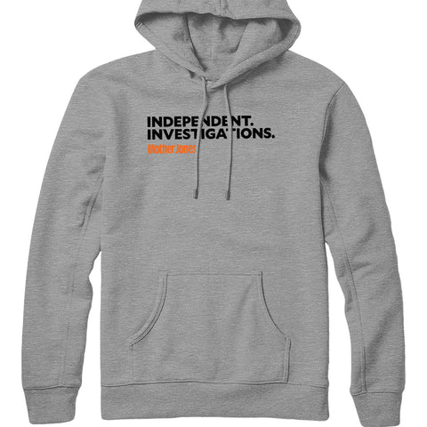Independent. Investigations. (Black/Orange) Hoodie