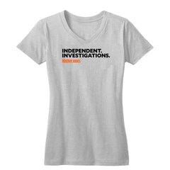 Independent. Investigations. (Black/Orange) Women's V