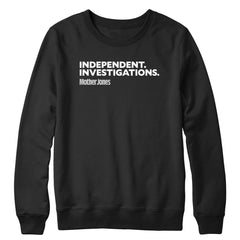 Independent. Investigations. (White/Grey) Crewneck