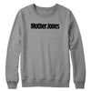 Mother Jones Logo (Black) Crewneck