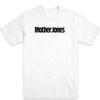 Mother Jones Logo (Black) Unisex Tee