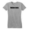 Mother Jones Logo (Black) Women's Fitted Tee