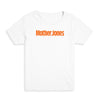 Mother Jones Logo (Orange) Kid's Tee